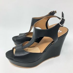 854d19f9aa1a bp Shoes - BP Women s Size 6.5 Springs Wedge Sandal Black